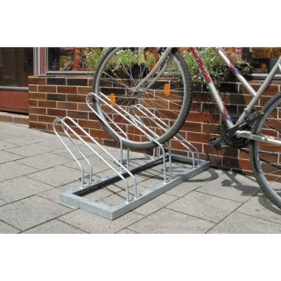 Kovový stojan na kolo, 3 stání
