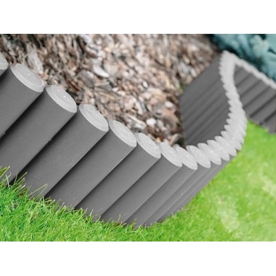 Zahradní palisáda terakota 270 cm