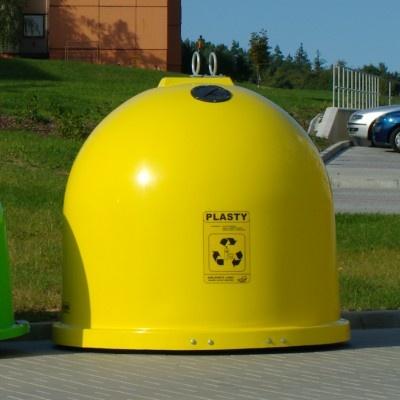 Sklolaminátové kontejnery GFA na plasty