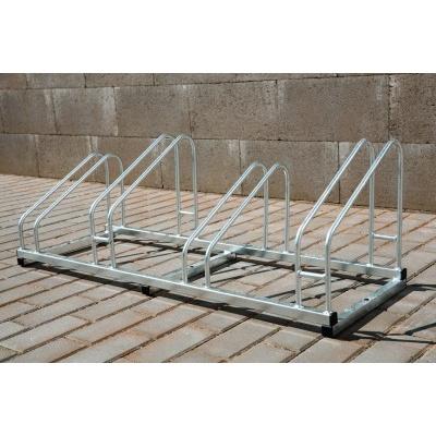 Kovový stojan na kolo, 4 stání