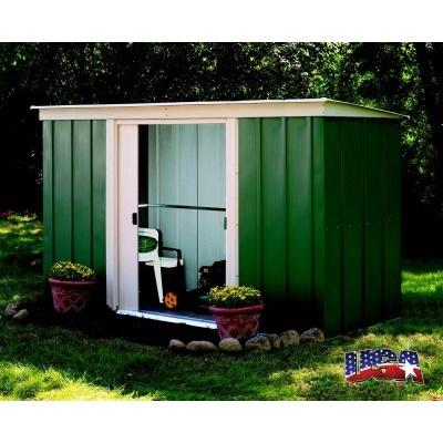 Zahradní domek ARROW PT 104 zelený