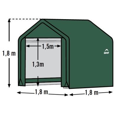 Plachtový přístřešek SHELTERLOGIC 1,8 x 1,8 m - 70417EU