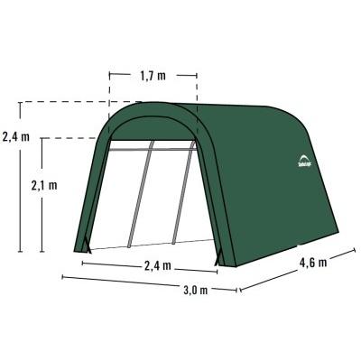 Plachtová garáž SHELTERLOGIC 3,0 x 4,6 m - 62589EU