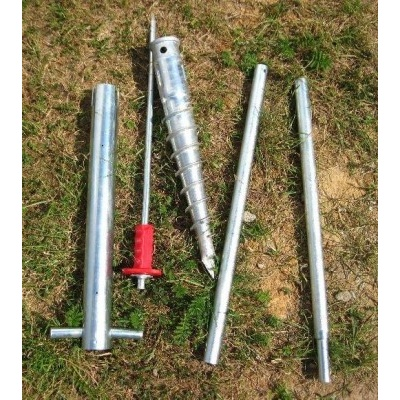 Sada 6 zemní vruty (modely 6x8, 6x10, 6x12, 4400 - 7500)
