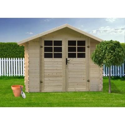 Dřevěný domek SOLID DAVID 340 x 301 cm (P88907)