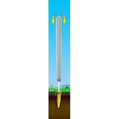 JUWEL - dvojitý zemní šroub