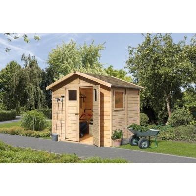 Dřevěný domek KARIBU DALIN 1 (45281) natur
