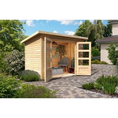 Dřevěný domek KARIBU STOCKACH 3 (82978) natur