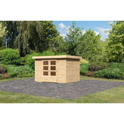 Dřevěný domek KARIBU ASKOLA 4 (73061) natur