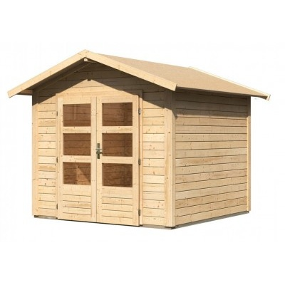 Dřevěný domek KARIBU TALKAU 4 (83336) natur