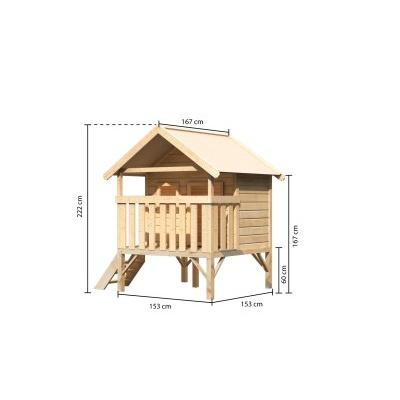 Dětský domek KARIBU MINI 82703