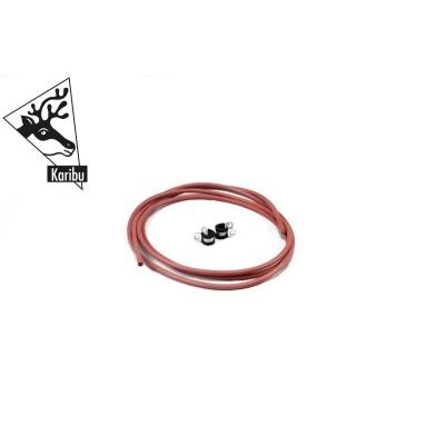 Silikonový kabel 2,5 mm / 3 m pro kamna (13365)