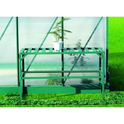 AL regál LANITPLAST 126x50 cm jednopolicový zelený