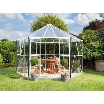 Zahradní pavilon VITAVIA HERA 9000 stříbrný