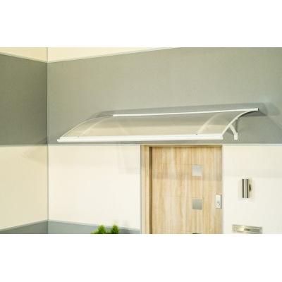Vchodová stříška LANITPLAST LARUS 120/87 bílá
